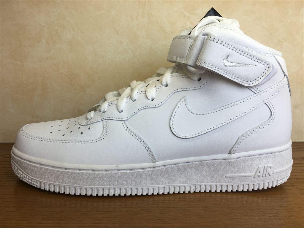 画像1: NIKE(ナイキ)  AIR FORCE 1 MID '07(エアフォース1MID'07) スニーカー 靴 メンズ 新品 (45)