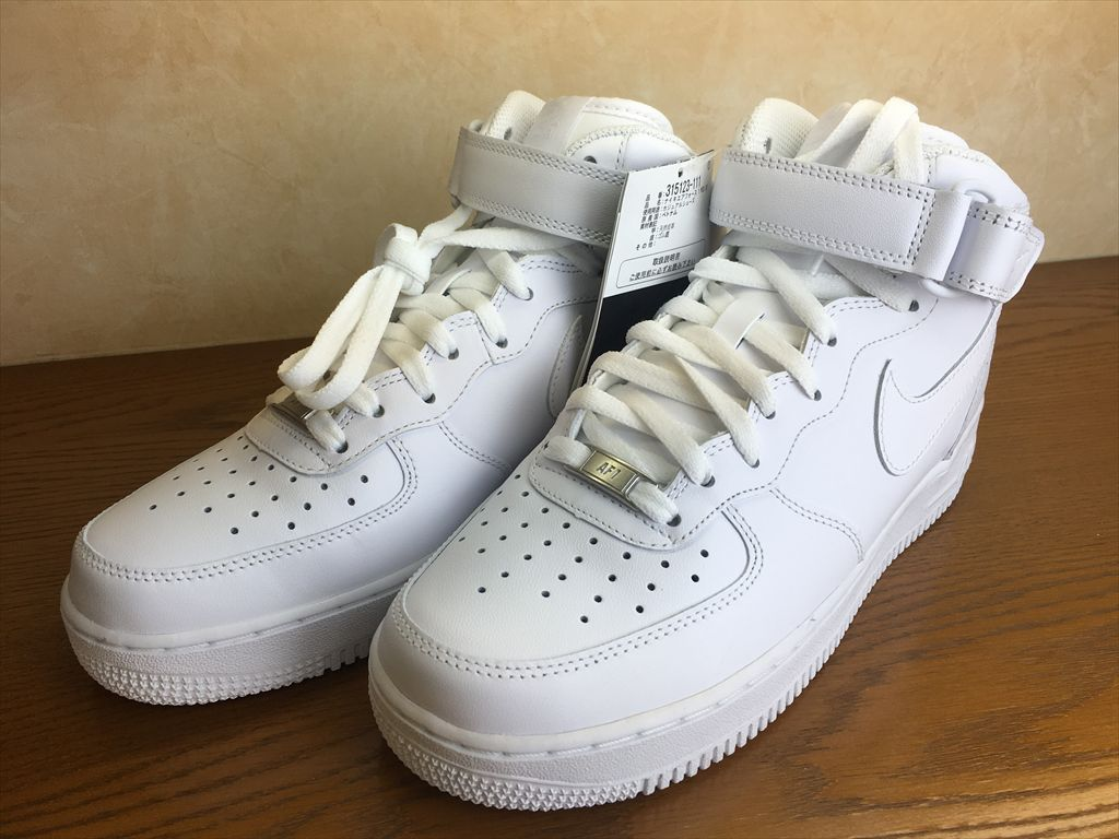 画像4: NIKE(ナイキ)  AIR FORCE 1 MID '07(エアフォース1MID'07) スニーカー 靴 メンズ 新品 (45)