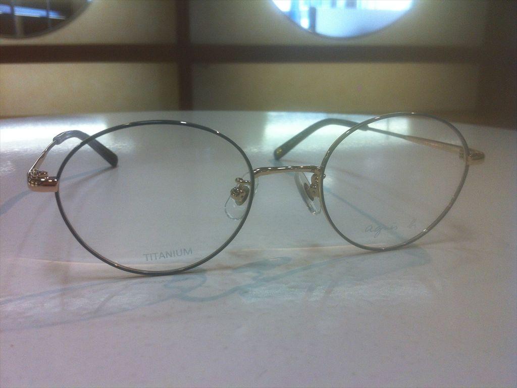 画像3: agnes b.(アニエスベー) メガネフレーム 48サイズ 新品