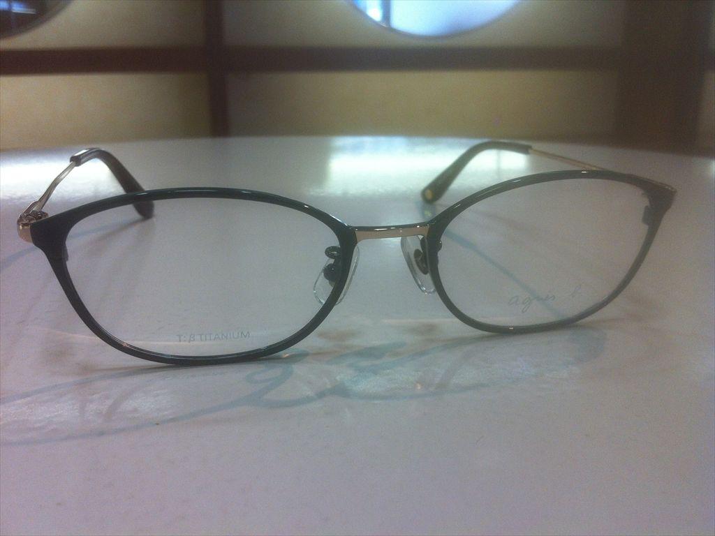 画像3: agnes b.(アニエスベー) メガネフレーム 50サイズ 新品