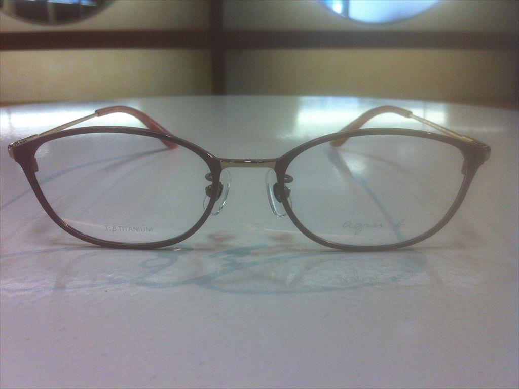 画像2: agnes b.(アニエスベー) メガネフレーム 50サイズ 新品