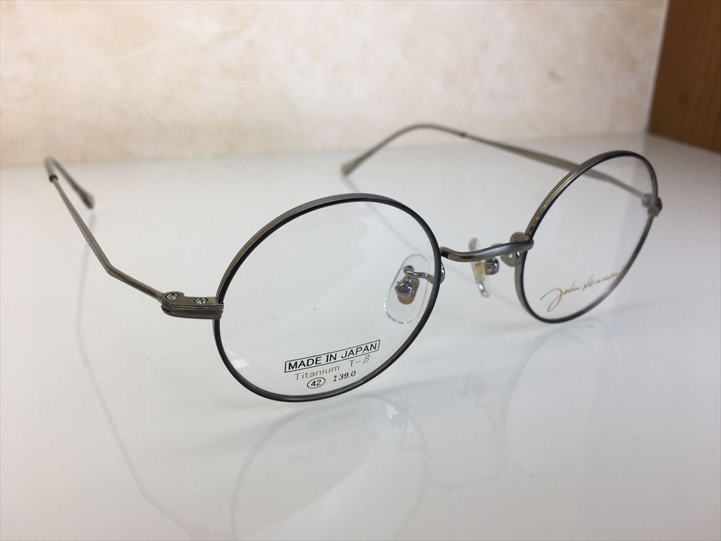 画像3: John Lennon(ジョンレノン) 丸型メガネフレーム 42サイズ 新品