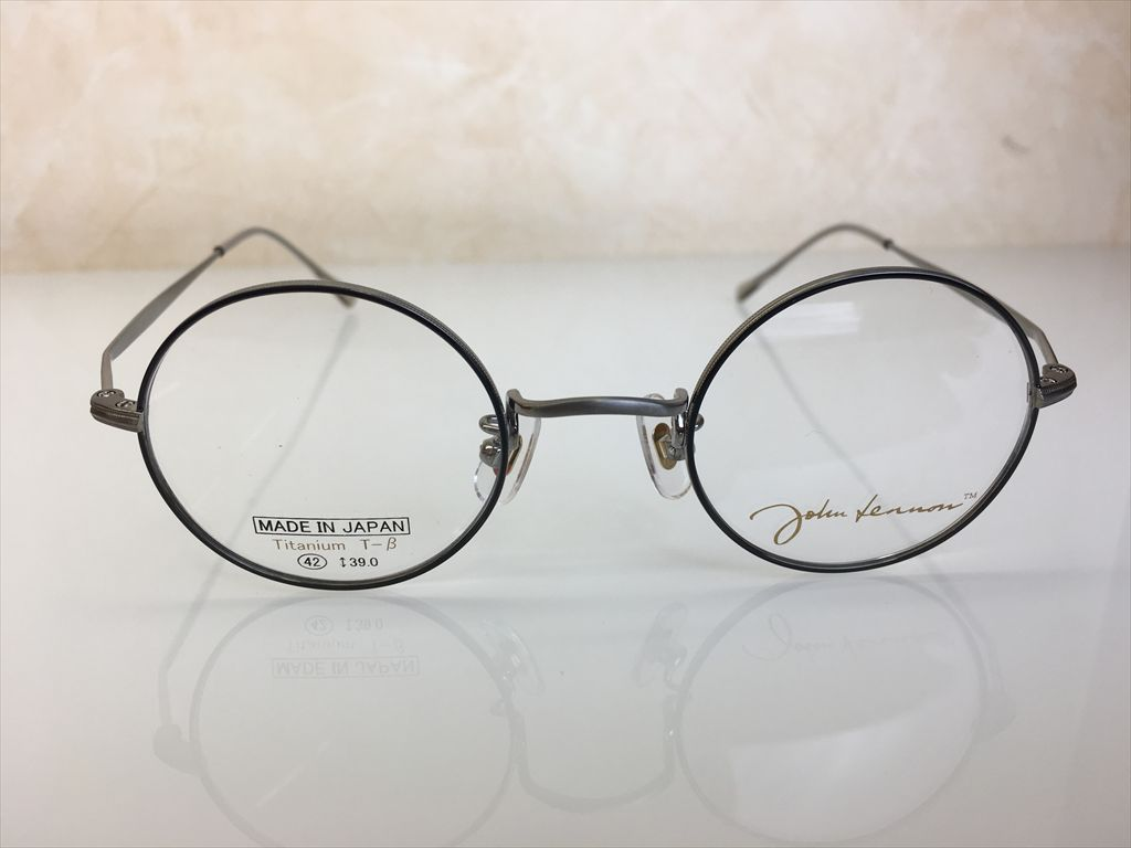 画像2: John Lennon(ジョンレノン) 丸型メガネフレーム 42サイズ 新品