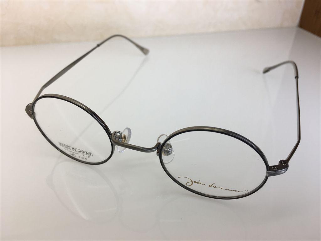 画像1: John Lennon(ジョンレノン) 丸型メガネフレーム 42サイズ 新品
