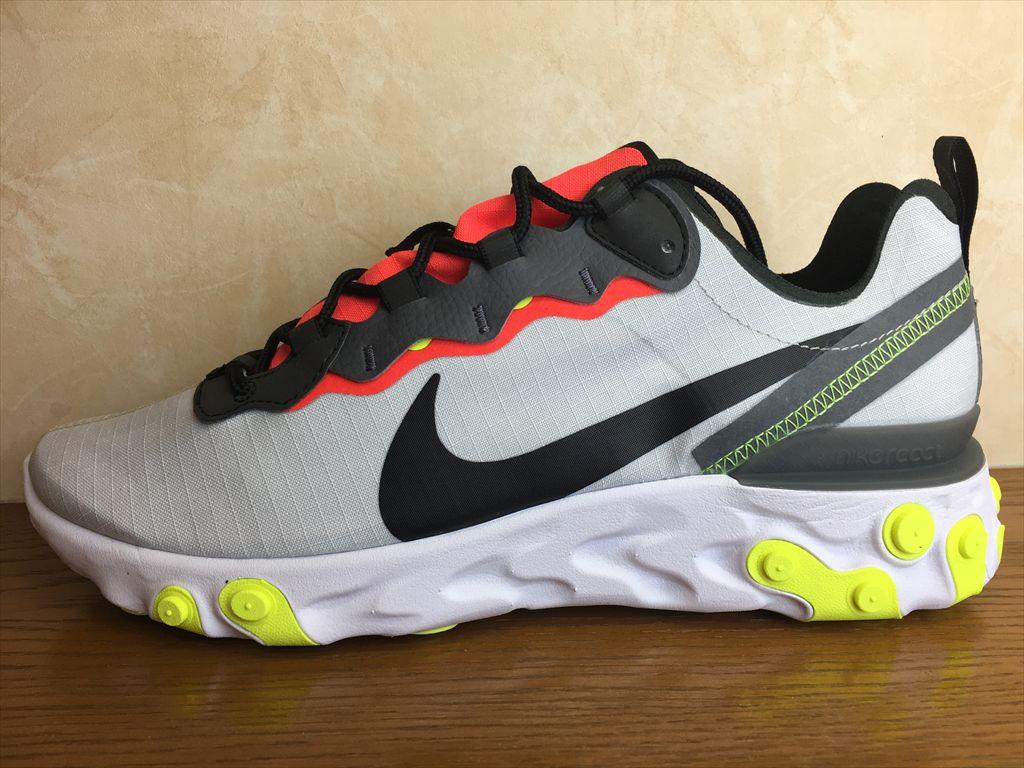 画像1: NIKE(ナイキ)  REACT ELEMENT 55 SE(リアクトエレメント55SE) スニーカー 靴 メンズ 新品 (225)