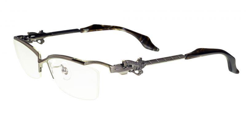 画像1: 進撃の巨人 エルヴィン&リヴァイモデル メガネフレーム 55サイズ 新品