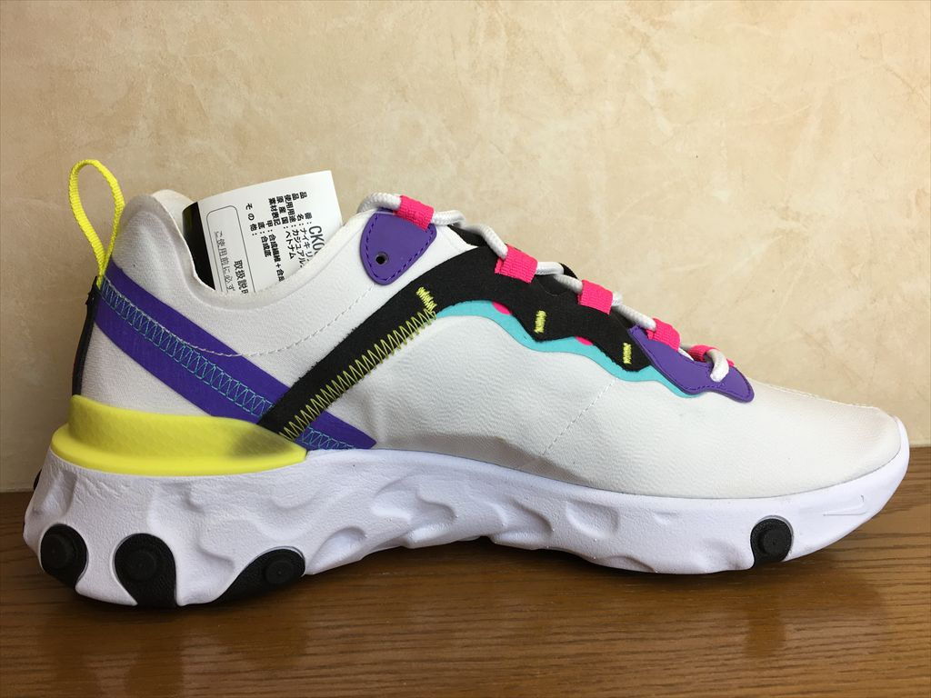 画像2: NIKE(ナイキ)  REACT ELEMENT 55(リアクトエレメント55) スニーカー 靴 メンズ 新品 (353)